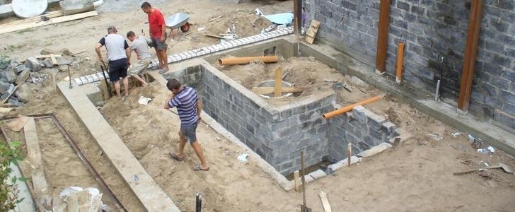 Ленточный фундамент для гаража своими руками пошаговая инструкция