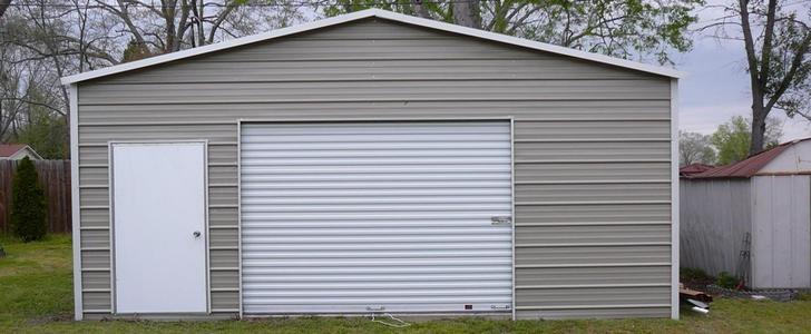 Где заказать металлический гараж